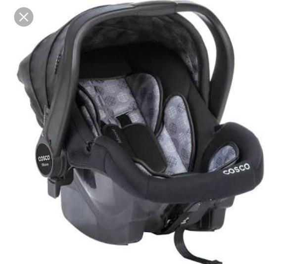 Bebê Conforto Cosco Cinza E Preto