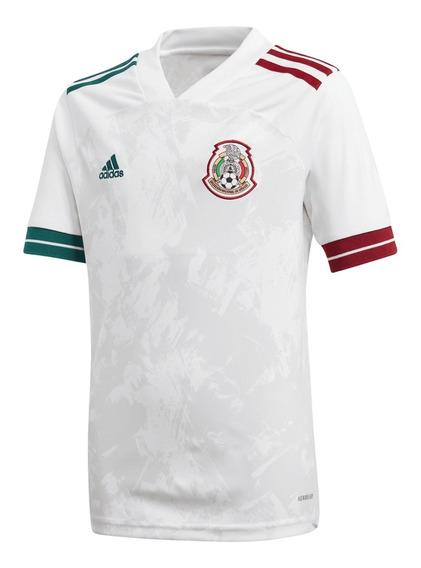 Jersey adidas Selección Mx Blanco/tricolor - Gc7940