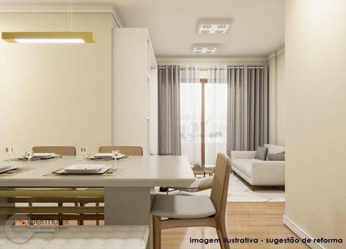 Ótimo Apartamento Com 3 Dormitórios À Venda, 80 M² - Alto Da Lapa - São Paulo/sp - Ap1427