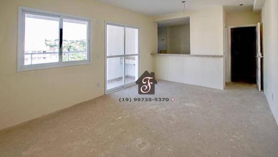 Apartamento À Venda, 82 M² - Mansões Santo Antônio - Campinas/sp - Ap1502