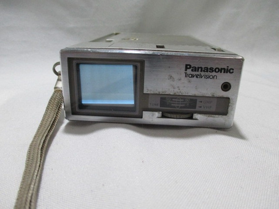 Antiga Mini Tv Panasonic Travelvision - Para Conserto