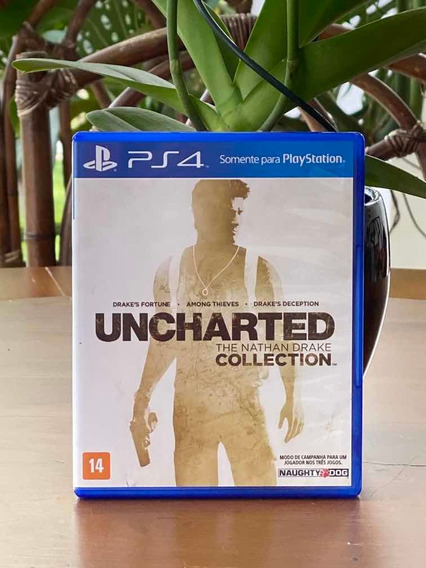 Jogo Ps4 Uncharted Collection