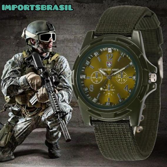 Relógio Militar Swiss Gemius Army! A Pronta Entrega! Baixouu