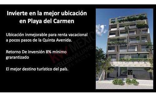 Estudio Amueblado En 3er Piso Muy Cerca De La 5a. Avenida De Playa Del Carmen