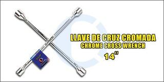Llave Cruz 14 Pulgada Cardoc 17mmx19mmx21mmx23mm 6$/ Tienda