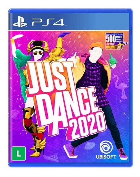 Just Dance 2020 Ps4 Mídia Física Novo Lacrado