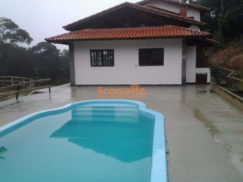 Chácara Com 4 Dorms, Lagoa, Itapecerica Da Serra - R$ 700 Mil, Cod: 2923 - V2923