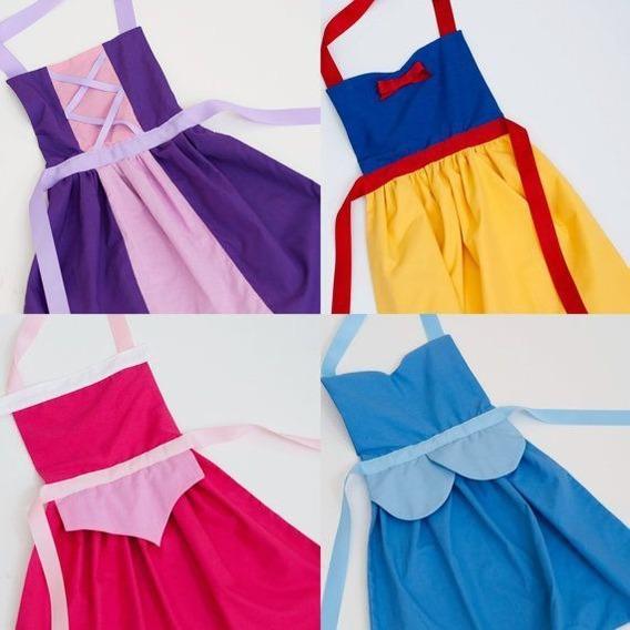 Disfraz De Princesa Delantal Para Niñas Dachi83c.a