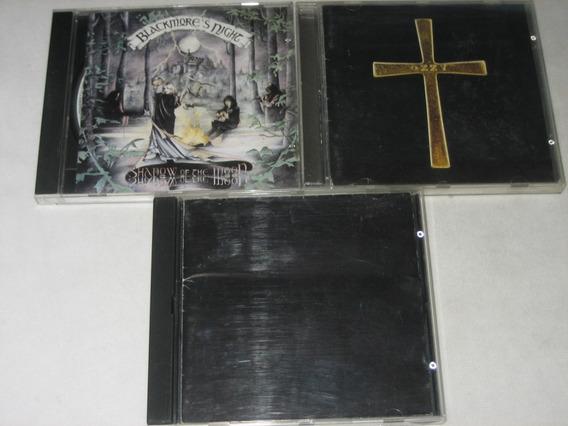 Metallica/ozzy Osbourne/ritchie Blackmore - Lote Com 3 Cds
