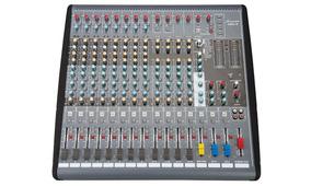 Mesa De Som 16 Canais C6xs-16 Studiomaster Frete Grátis !