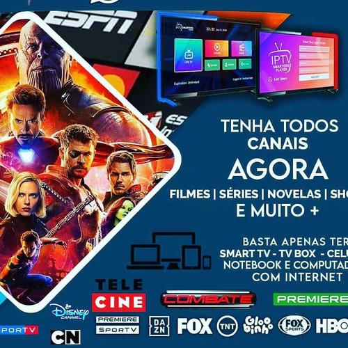Imagem 1 de 4 de Liberada Todo Canais,filmes,séries Para Seu Tv Box, Smart Tv
