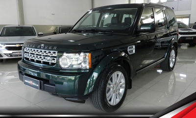 Land Rover Discovery4 3.0 Tdv6 4x4 Impecável Lacrada 7 Lugar