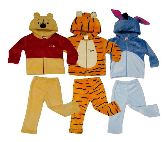 Kit Disney Conjuntos Con Bordado Pooh, Tigger, Eeyore