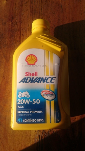 Lubricantes Marca Shell 4t