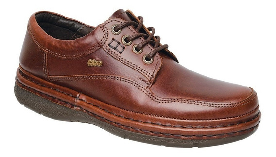 Zapato Acordonado Original Febo Cuero Feb806