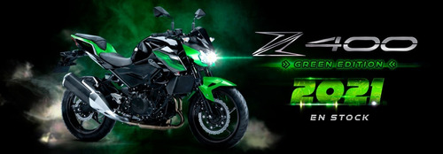 Kawasaki Z400 2021- Entrega Inmediata, Financia El %100