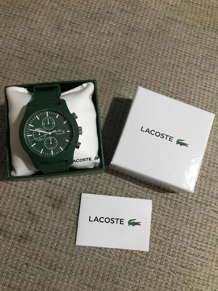 Relógio Lacoste Verde Unissex Original
