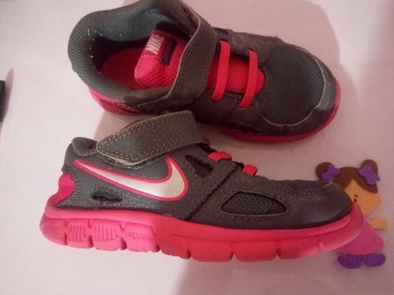 Tênis Nike Infantil Menina 25 - Cód.3454