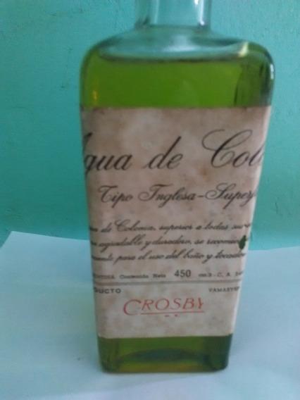Agua De Colonia Crosby Y Una James Smart En Caja Original
