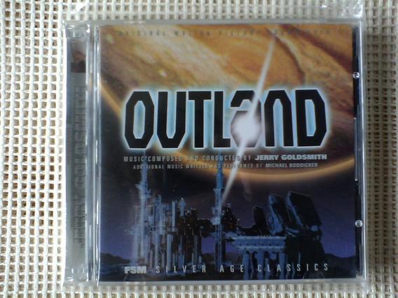 Outland Jerry Goldsmith Original Soundtrack 2 Cds