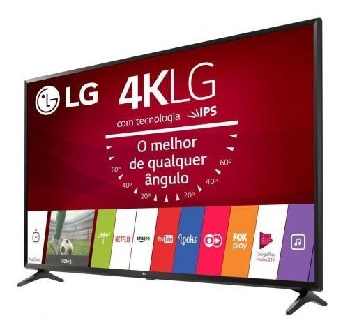 Smart Tv Led 43 Ultra Hd 4k LG 43uj6300 Sistema Webos 3.5
