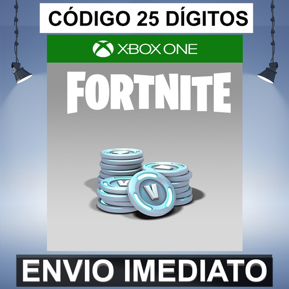 Fortnite 5000 V-bucks Código De 25 Digitos Xbox One