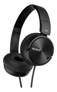 Headphone Dobrável Dinâmico 30mm Sony Mdr-zx110 Preto