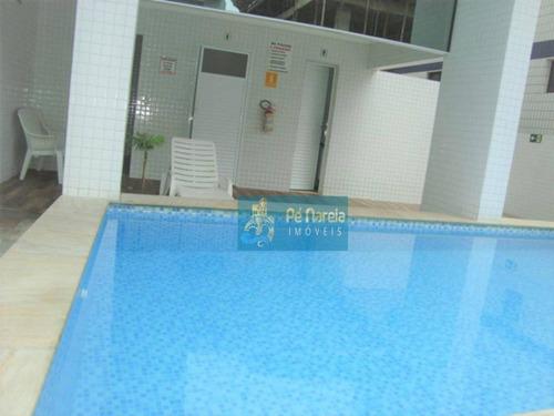 Imagem 1 de 28 de Apartamento Com 2 Dormitórios À Venda, 92 M² Por R$ 350.000 - Aviação - Praia Grande/sp - Ap0376
