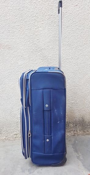 Maleta Grande Viaje Samsonite Color Azul 65cm X 41cm X 27cm