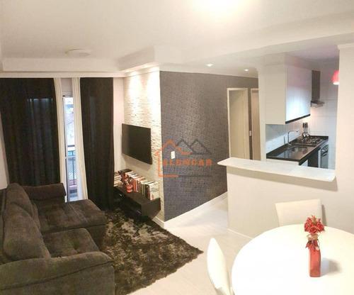 Imagem 1 de 15 de Apartamento Com 2 Dormitórios À Venda, 47 M² Por R$ 199.000,00 - Jardim Norma - São Paulo/sp - Ap0015