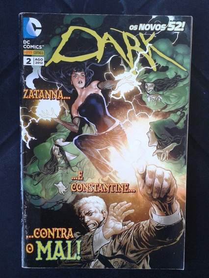 Hq Dark N ° 2 Agosto 2012 Dc Comics