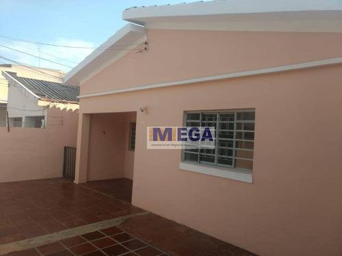 Casa Com 2 Dormitórios À Venda, 130 M² Por R$ 580.000 - Barão Geraldo - Campinas/sp - Ca1431
