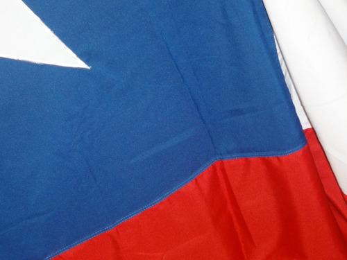 Imagen 1 de 3 de Banderas Chilena 150x100 Trevira Reforzada / Pack X 2 Oferta