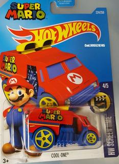 Mc Mad Car Hot Wheels Super Mario Auto Coleccion Hw