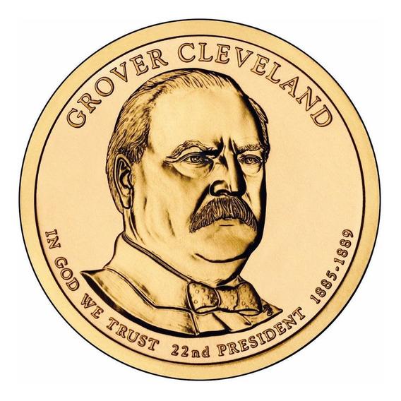 1 Dolar Americano - Grover Cleveland - Letra D