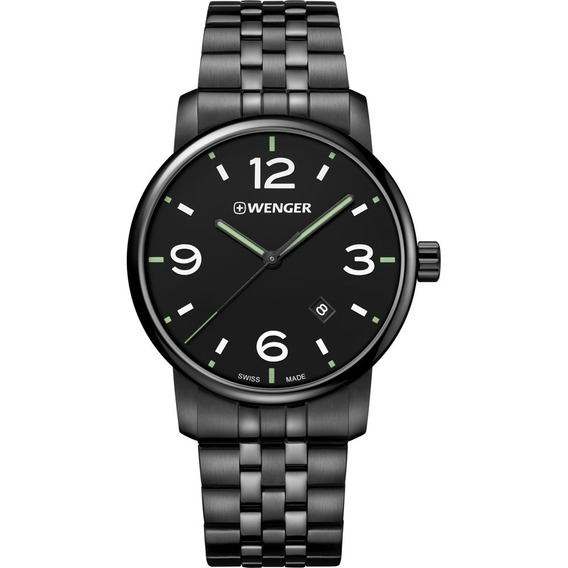 Relógio Masculino Suíço Wenger Urban Classic Inox 01.174.119