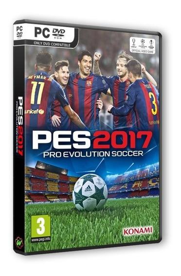 Pro Evolution Soccer 2017 - Pes 2017 - Pc Dvd Frete 8 Reais