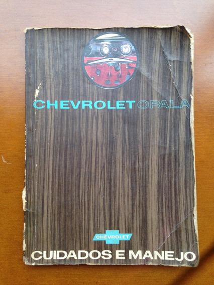 Manual Chevrolet Opala 69, 70 E 71.