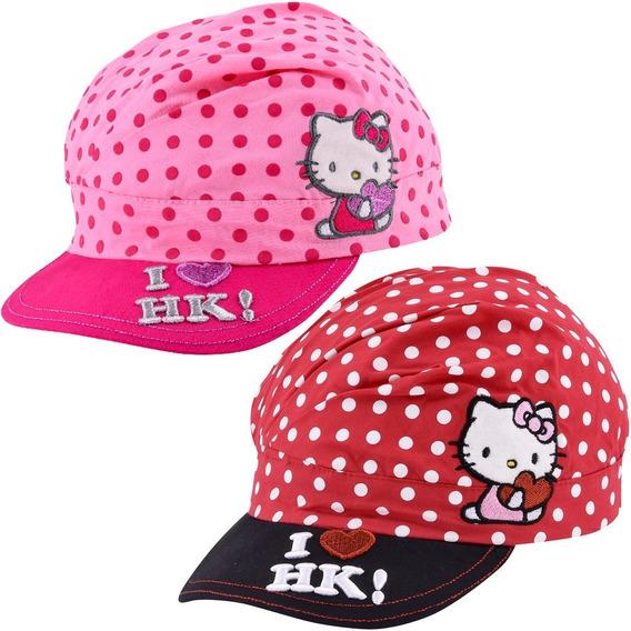 Gorro Hello Kitty Con Visera Gorra Infantil Footy