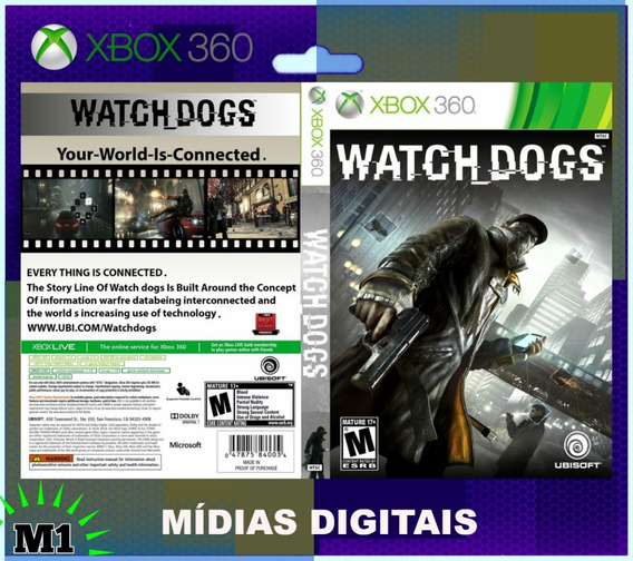 Watch Dogs Completo Xbox 360 Download Na Live Xbox