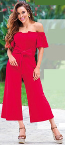 Jumpsuit Rojo Cklass 017-85
