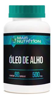 Oleo De Alho 500mg 60 Capsulas - Mais Nutrition