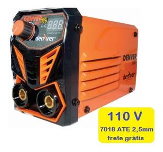 Maquina De Solda Inversora Mini Portátil Mma 120 Denver 110v