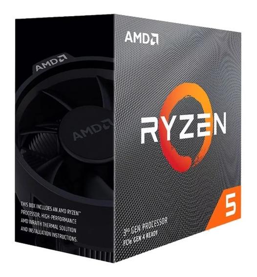 Micro Procesador Amd Ryzen 5 3600x 4.4ghz Nuevo 3ra Gen. Am4