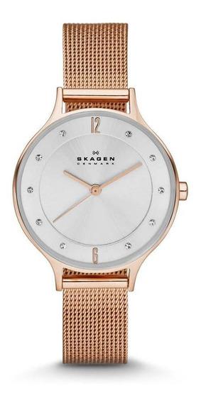 Relógio Skagen Feminino Rosé Anita - Skw2151/4kn