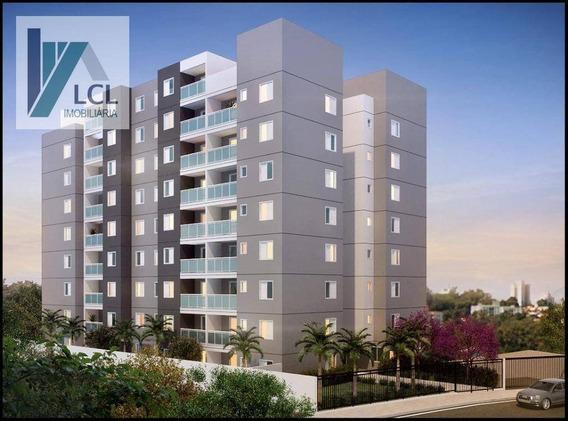 Apartamento Com 2 Dormitórios À Venda, 56 M² Por R$ 255.000,00 - Parque Assunção - Taboão Da Serra/sp - Ap0005