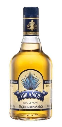 Imagen 1 de 1 de Botella De Tequila 100 Años Agave Azul Reposado De 700ml
