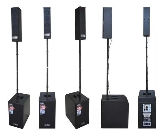 Sistema Array Vertical Activo Opera Con Dsp, Bluetooth 1000w