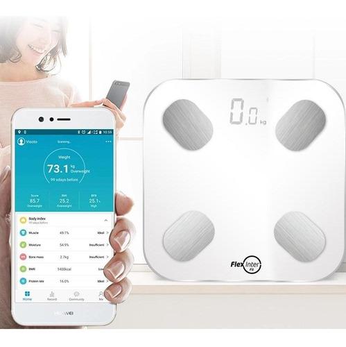 Balança Corporal Digital Smart Bioimpedância Bluetooth App