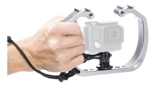 Soporte Grip Cage P/ Go Pro Action Cam Waterproof Skgha6